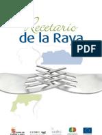 Recetario de La Raya - Castilla y Portugal