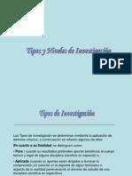 Tiposyniveles de Investigacion