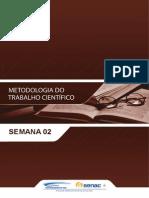 Metodologia Do Trabalho Cientifico Semana02