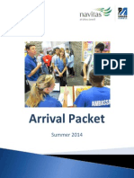Arrival Information Packet