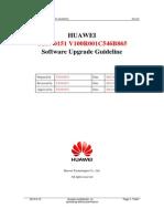 HUAWEI Y210-0151 V100R001C546B865 Software Upgrade Guideline