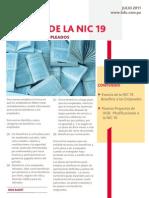 Brochure NIC 19 - Auditoría