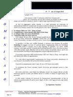 Comunicato N 77 Evoluzione Rete Commerciale Del 13.6.2014