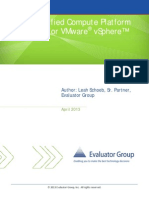 Hitachi Unified Compute Platform UCP Pro VMware VSphere