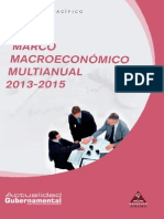 Marco Macroeconomico Anual