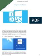 10 Dicas Espertas Para Melhorar o Windows 8