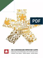 SnowSkool's Ski & Snowboard Improver Course Brochure