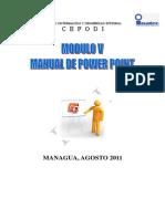 MODULO v Manual Power Point 2010