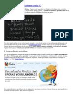 10 Consejos Para Aprender Idiomas Con Tu PC