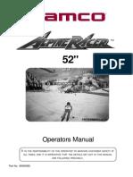 Alpine Racer 52in Manual