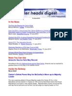 Cooler Heads Digest 13 June 2014