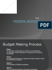 Federal Budget India