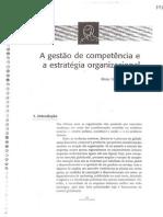 A Gestão Por Competência e a Estratégia Organizacional