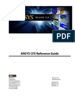 Ansys CFX - Reference Guide