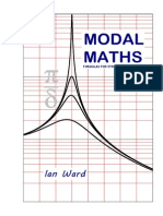 Modal Maths Formulas for Structural Dynamics Lan Ward