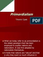 Primordialism (2)