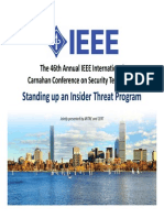 IEEE Insider Threat Program Conf.