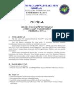 Contoh Proposal Kerjasama Kompas
