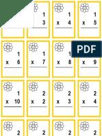 Crazy Daisy Math Game Cards