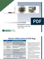 EPA Regulatory Primer on GHG Regulations