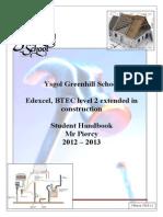 BTEC S Handbook 2013