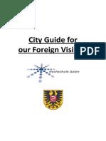 85 City Guide Englisch