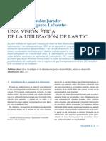 Etica Una Vision .... Tic