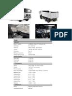 Volqueta 6x4 Dongfeng 375 T-lift
