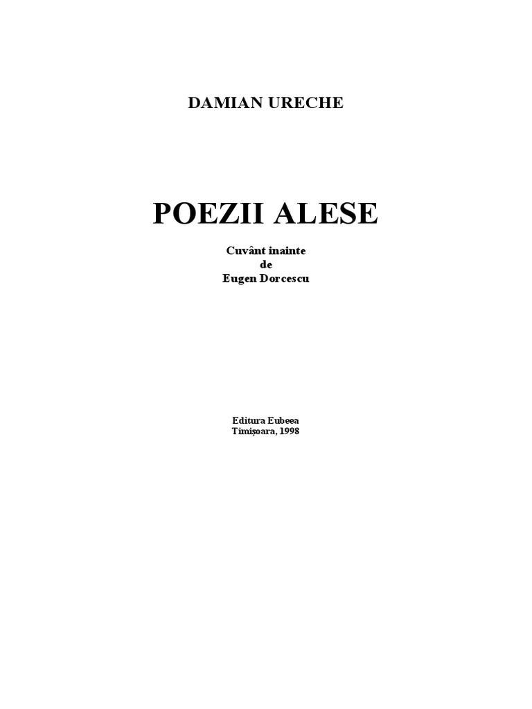 Poezii de Mihai Eminescu – poezii celebre scrise de Eminescu