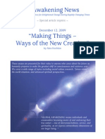 """Making Things"" - Ways of the New Creation - Nov 2009"