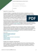 Guia de Investigação Computacional Para Windows