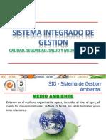 Capacitación SIG Medio Ambiente