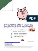 Diversification Viande Production Fermière