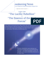 Lucifer Rebellion and the Essence of the Dark Forces - Aug 2008