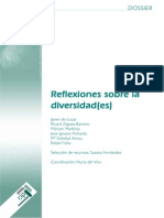 Dossier Reflexion Sobre Diversidad(Es)