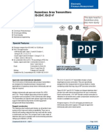 Wika Pressure Transmitter DS PE is 20 F en Us 29653