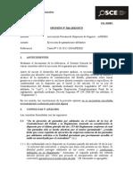 OPINION - Amortización y Ejecución de Garantía Por Adelantos