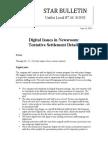 Digital Deal Ratification