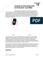 19 Ley de Beer