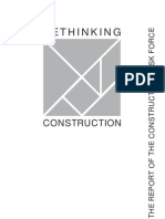The Report of the Construction Task Force