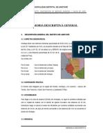 Memoria Descriptiva Mercado Amotape