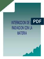 Interaccion de La Radiacion Con La Materia-II