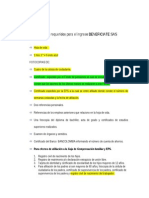 Documentos Para Ingreso
