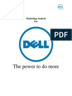 dell - group marketing analysis report