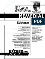 2012 Evidence Law Reviewer