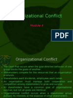 Organizational Conflict Management