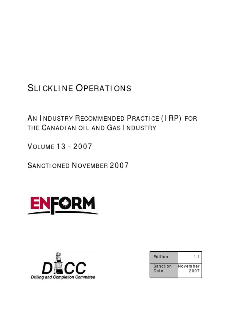 slick line occupational safety and health personal protective rh scribd com expro slickline training manual slickline operations training manual pdf