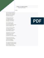 Poema a Los Niños Héroes