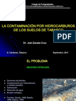 1-La Contaminacion Por Hidrocarburos de Los Suelos de Tabasco