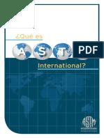 Descripción Norma ASTM